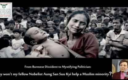 Why won't my fellow Nobelist Aung San Suu Kyi help a Muslim minority?