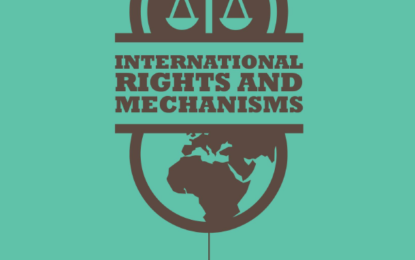 International Law and Mechanisms