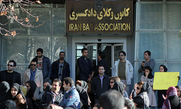 Rejecting lawyers in criminal and revolutionary courts is against the law