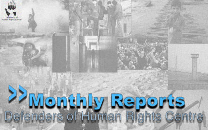Report on Human Rights Situation in Iran in Khordad 1391 [Iranian month beginning 21 May 2012]