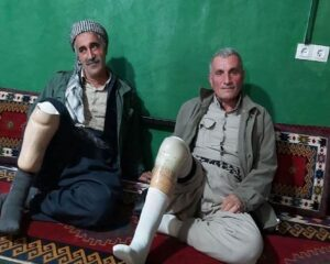 Kurdish shepherd still suffers three decades after landmine explosion